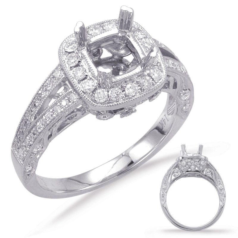 S. Kashi & Sons Bridal Paltinum Engagement Ring