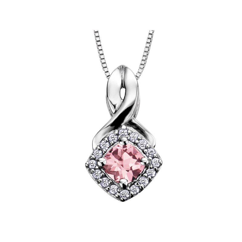 D of D Signature Birthstone & Diamond Pendant