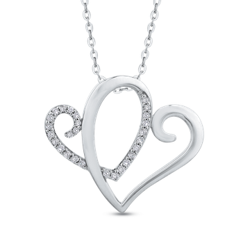 Diamond Anniversary Symbol™ Heart Pendant with Chain