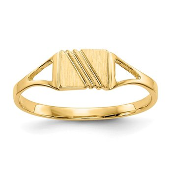 14k Childs Polished & Satin Ring