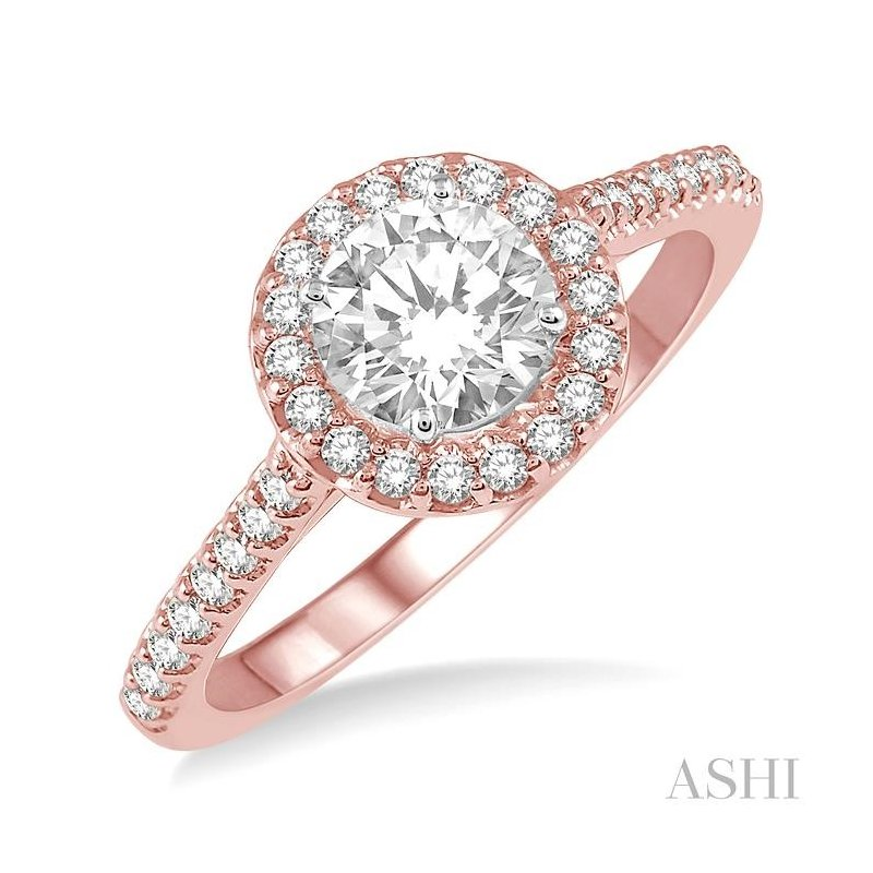 ASHI diamond engagement ring