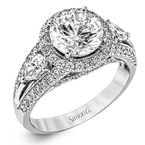 Simon G MR1503 ENGAGEMENT RING