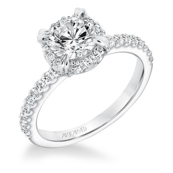 ArtCarved Emme Diamond Engagement Mounting