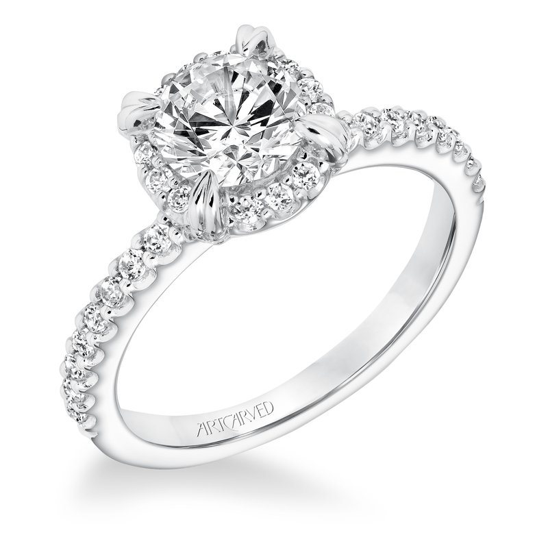 ArtCarved ArtCarved Emme Diamond Engagement Mounting