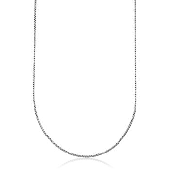 Stainless Steel 2mm Rounded Box Chain. 26""