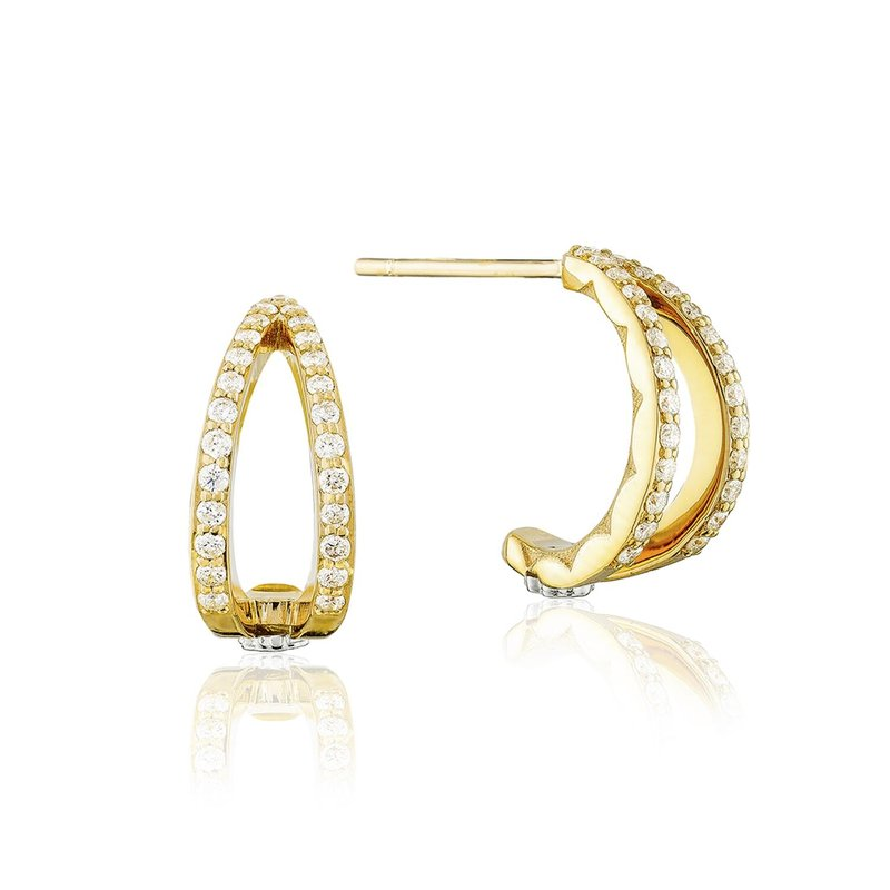 Tacori Fashion Pavé Crossroad Studs