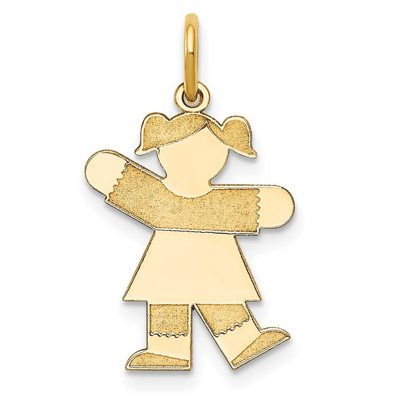 Quality Gold 14k Kid Charm
