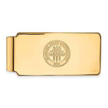 Gold Florida State University NCAA Money Clip