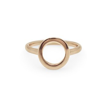 Rose Gold Cerchio Ring