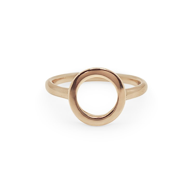 ALOR Rose Gold Cerchio Ring