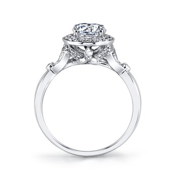 MARS 25950 Diamond Engagement Ring, 0.26 Ctw.