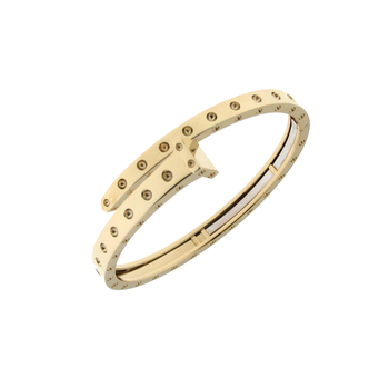 18Kt Gold Chiodo Bangle