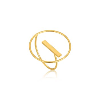 Modern Circle Adjustable Ring