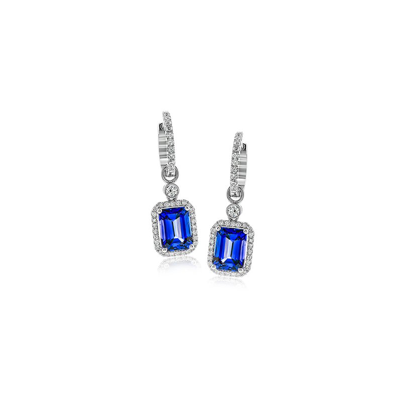 Simon G TE221 COLOR EARRING