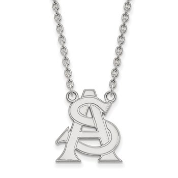 Sterling Silver Arizona State University NCAA Necklace
