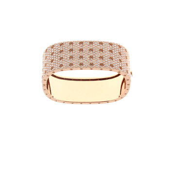 #25517 Of 4 Row Pave Diamond Bangle