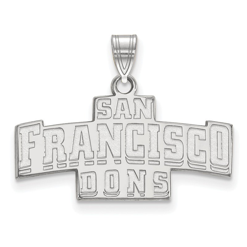 NCAA Gold University of San Francisco NCAA Pendant