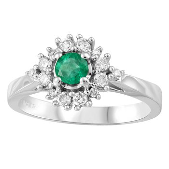 Forever Ice™ Emerald Ring