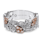 Zeghani ZR1398 RIGHT HAND RING