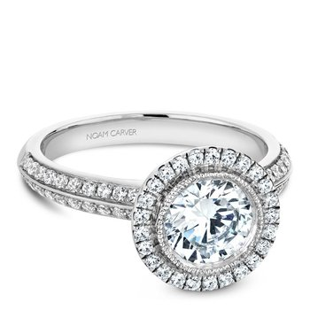 Noam Carver Vintage Engagement Ring B144-15A