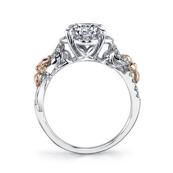 MARS 25953 Diamond Engagement Ring, 0.30 Ctw.