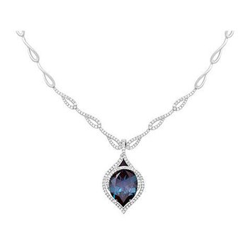 Alexandrite Necklace-CN0256WAL