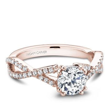 Noam Carver Modern Engagement Ring B004-03RA