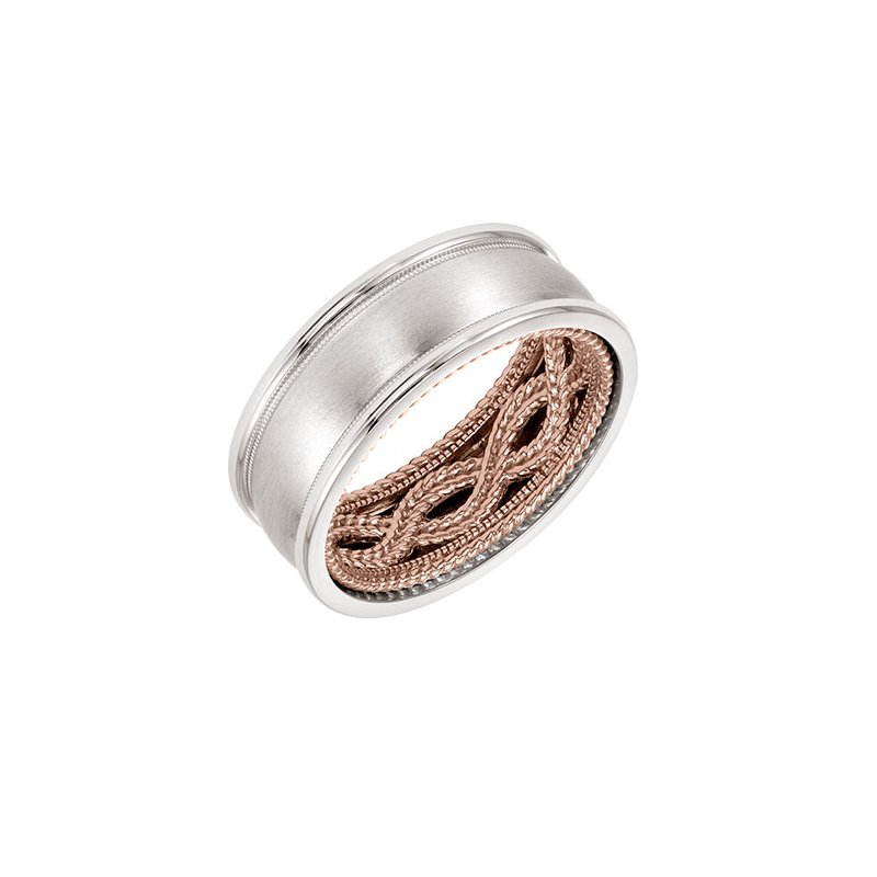 ArtCarved Domed Wedding Band