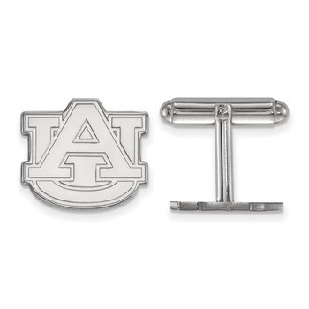 Sterling Silver Auburn University NCAA Cuff Links
