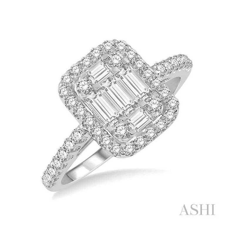 ASHI fusion diamond ring