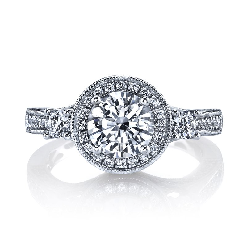 MARS Jewelry 25221 Diamond Engagement Ring 0.76 ct tw