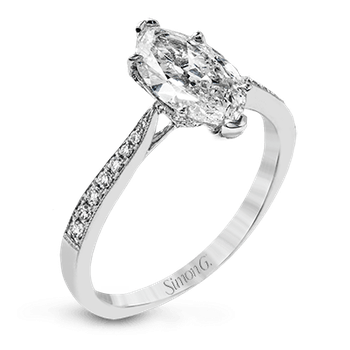 TR701-MQ ENGAGEMENT RING
