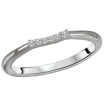 Diamond Nesting Wedding Ring