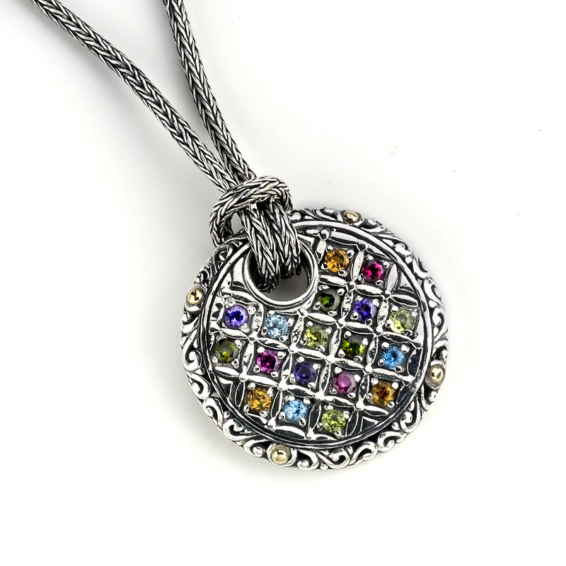 Samuel B Patchwork Necklace