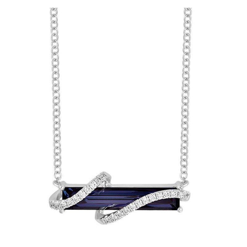 Chatham Alexandrite Necklace-CPN0012WAL