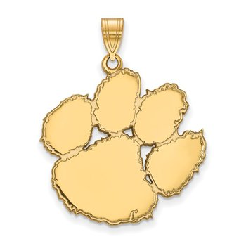 Gold Clemson University NCAA Pendant