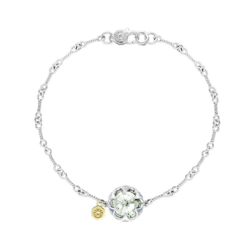 Tacori Fashion Crescent Gemstone Bracelet featuring Prasiolite