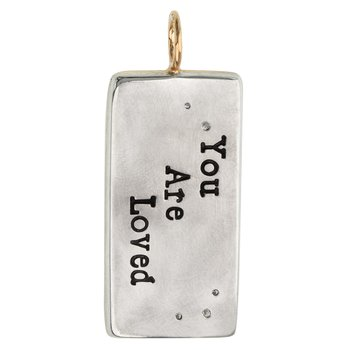 You Are Loved ID Tag