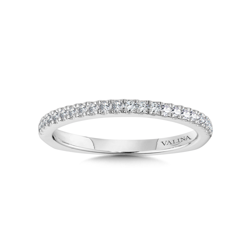 Valina Bridals Diamond and 14K White Gold Wedding Ring (0.17 ct. tw.)