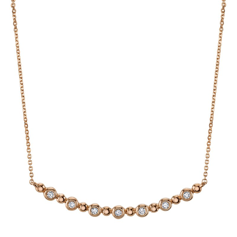 MARS Jewelry MARS 26818 Fashion Necklace, 0.07 Ctw.