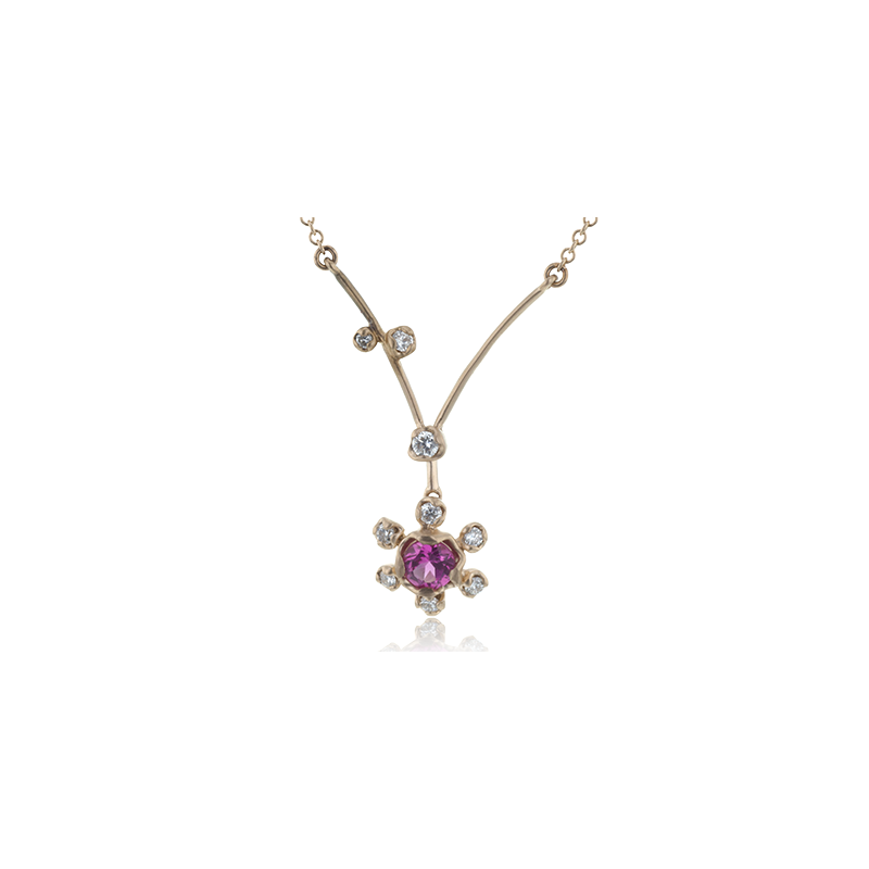 Simon G LP4596-R COLOR PENDANT