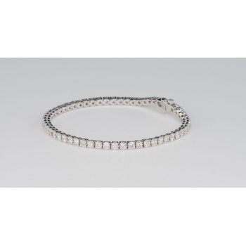 4.06 Cttw Diamond Tennis Bracelet