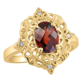 Forever Ice™ Made by Canadians Garnet Ring