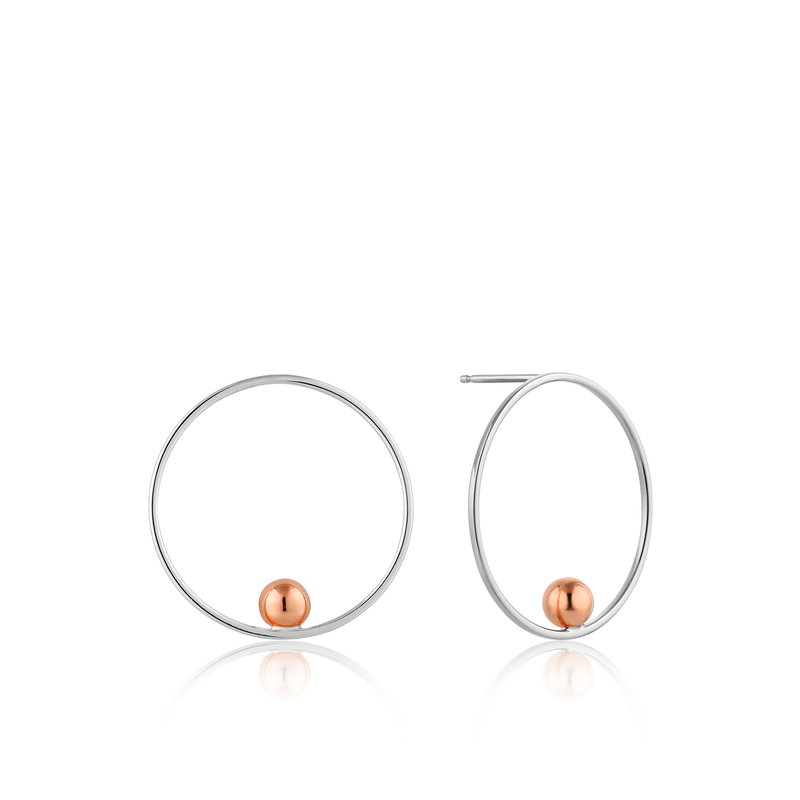 Ania Haie Orbit Front Hoop Earrings