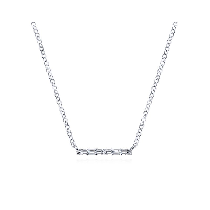 Amavida 14K White Gold Fashion Necklace