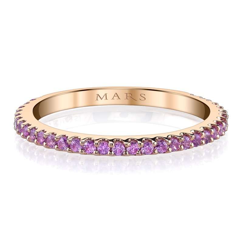 MARS Jewelry MARS 26157RGPS  Stackable Ring, 0.60 Ctw.