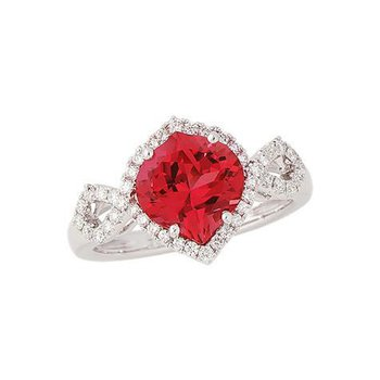 Padparadscha Ring-CR8248WPD
