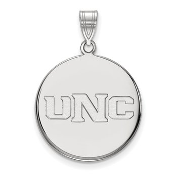 Sterling Silver University of Northern Colorado NCAA Pendant