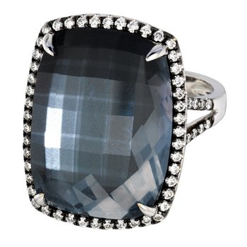 Haute Hematite Fashion Ring