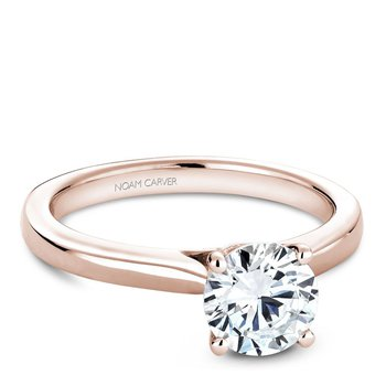 Noam Carver Modern Engagement Ring B140-01RA